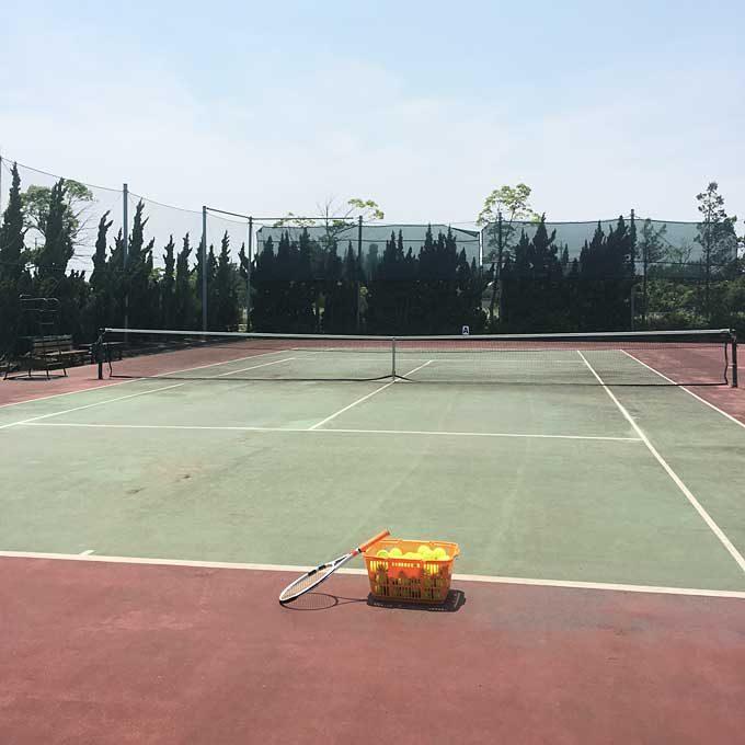 テニス肘からの復帰サーブ練