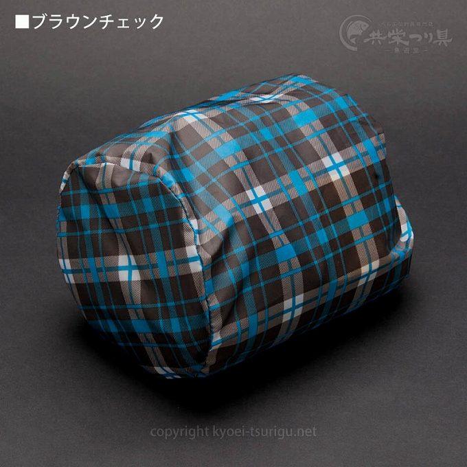 ダイシン防水スカート(裏メッシュ付)-ブラウンチェック