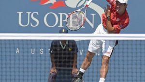テニスのサーブに悩んでいる人はフォロースルーを意識すると良いかもしれない